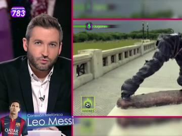 Frank Blanco entrevista a Leo Messi