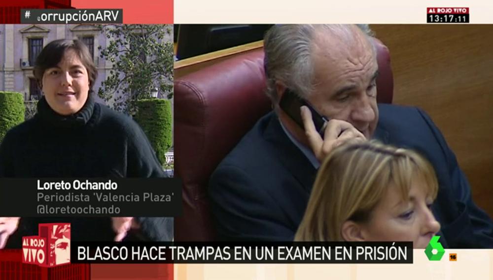 Frame 24.85549 de: Rafael Blasco, 'pillado' copiando en un examen para la UNED en prisión