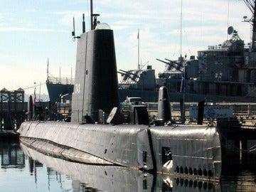 El submarino USS Clagamore, de 71 años de antigüedad