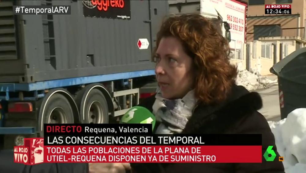"""Frame 13.064273 de: Cristina, vecina afectada por el temporal: """"Gracias a unos vecinos pudimos tener calor y comer caliente"""""""