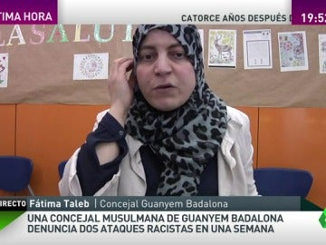"""Frame 119.752881 de: Fátima Taleb, concejal víctima de ataques racistas: """"Los hago público porque muchos otros también los sufren"""""""