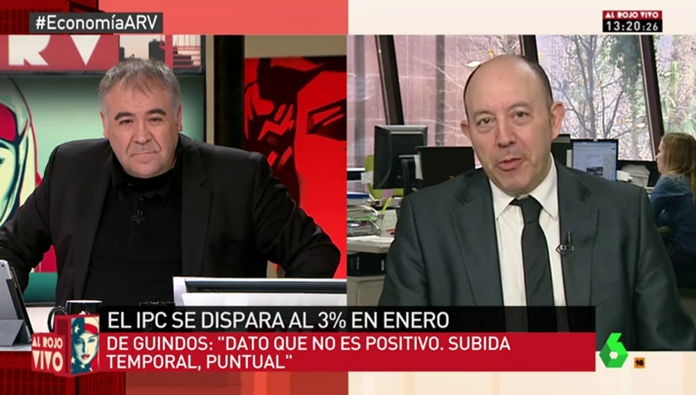 """Frame 4.75451 de: Bernardos, sobre el anuncio de De Guindos:""""¿Entre 2011 y 2016 la gente ha ganado poder adquisitivo? Hay que tener jeta"""""""