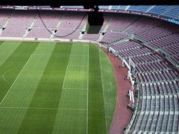 Cámara del 'Ojo de Halcón' en el Camp Nou