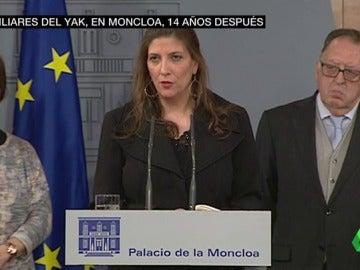 """Frame 53.788774 de: Ripollés, tras la reunión con Rajoy: """"Las víctimas del Yak-42 queremos hablar de esperanza, más que de satisfacción"""""""