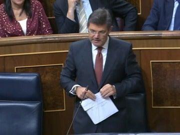 Frame 0.0 de: Catalá: la ley de partidos y la de transparencia se aprobaron sin el apoyo del resto del Congreso