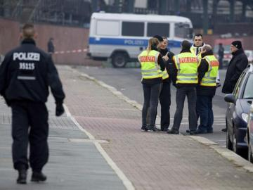 Agentes de la policía alemana