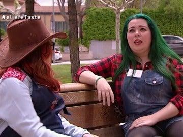 Cristina en El Jefe Infiltrado Taste