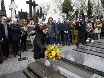 Homenaje del Partido Socialista de Euskadi a su compañero Fernando Múgica asesinado por ETA hace 21 años