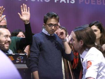 Íñigo Errejón, secretario Político de Podemos