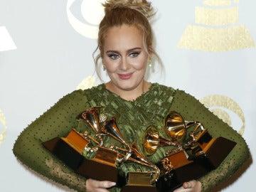 Adele en los Grammy
