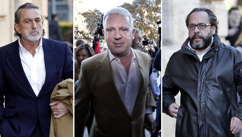 Correa, Crespo y Álvaro Pérez, 'El Bigotes'