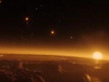 Así es una enana roja ultrafría con siete exoplanetas
