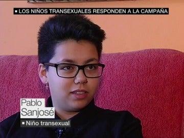Pablo Sanjosé, niño transexual