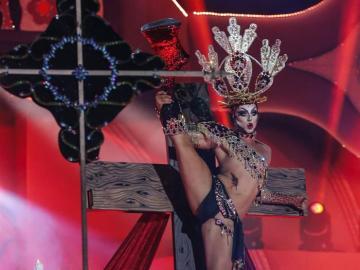 Drag Sethlas, en la Gala Drag Queen 2017