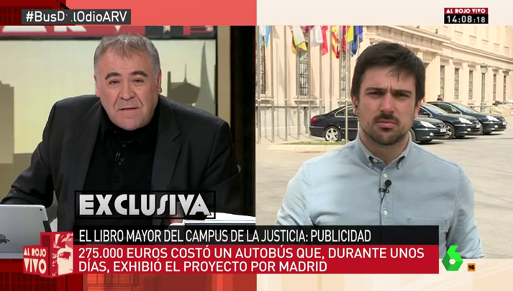 "Frame 8.868108 de: Ramón Espinar: ""No puede ser que con dinero público se le esté pagando un máster de 40.000 euros a un señor"""