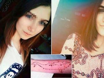 Yulia Konstantinova, de 15 años, y Veronika Volkova, de 16 años