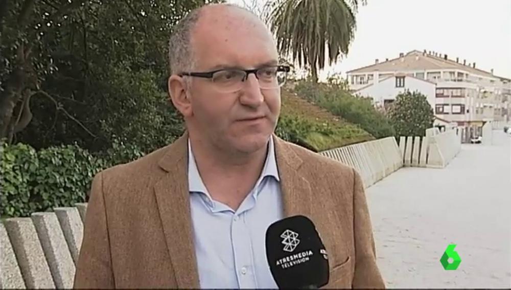 Santiago Freire, alcalde de Noia