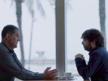 Jordi Évole y Juan Luis Moreno