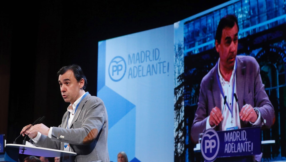 El coordinador general del PP, Fernando Martínez Maillo