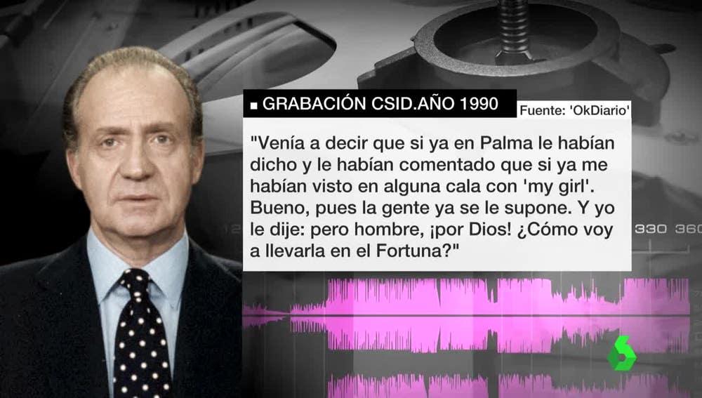 Conversaciones del rey Juan Carlos