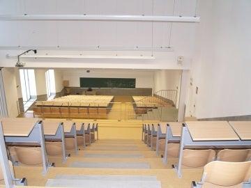 Aula de la Facultad de Comercio de Málaga