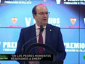 "Frame 29.354466 de: Pepe Castro: ""Confiamos en Sampaoli"""