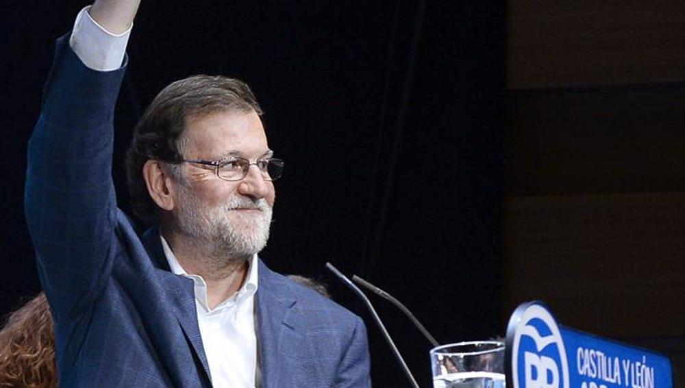 Mariano Rajoy en un acto