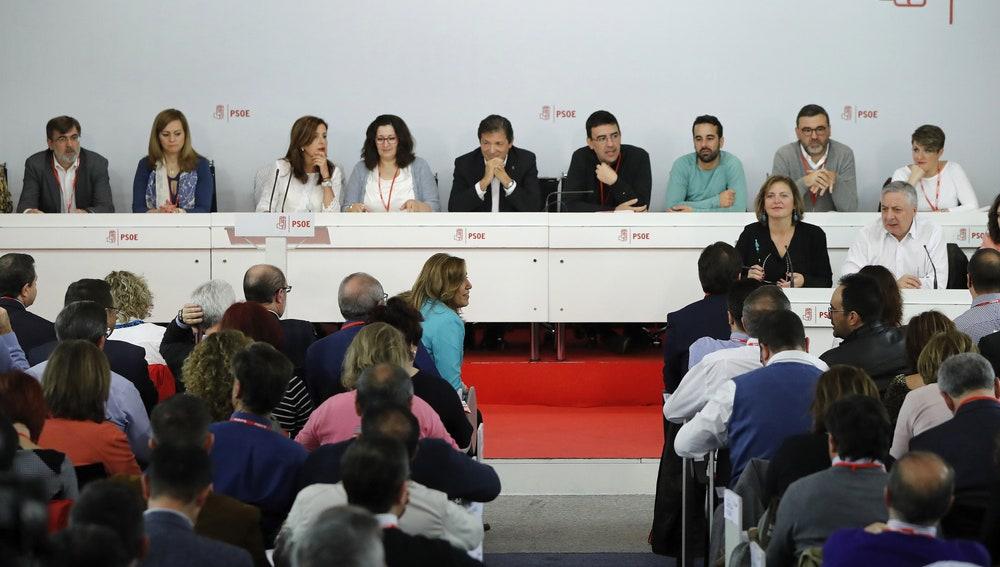 ista de la reunión que el Comité Federal del PSOE celebra en la sede de Ferraz, en Madrid