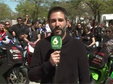Frame 22.264433 de:  Miles de motoristas se concentran en Madrid y exigen más medidas de seguridad en las carreteras