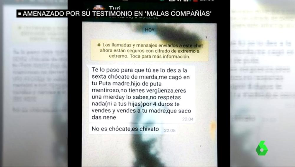 Insultos a Toño Sobrino tras su paso por Malas Compañías