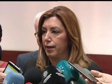 """Susana Díaz: """"Carme era una mujer valiente y extraordinaria, y he tenido la fortuna de que fuera mi amiga y compañera"""""""