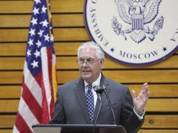 El secretario de Estado de EEUU, Rex Tillerson