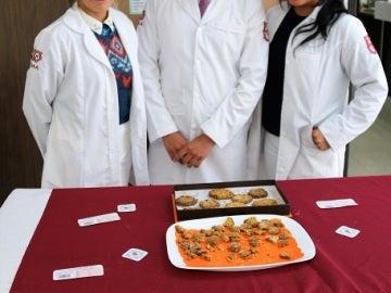 Tres estudiantes de México crean una galleta contra el estreñimiento