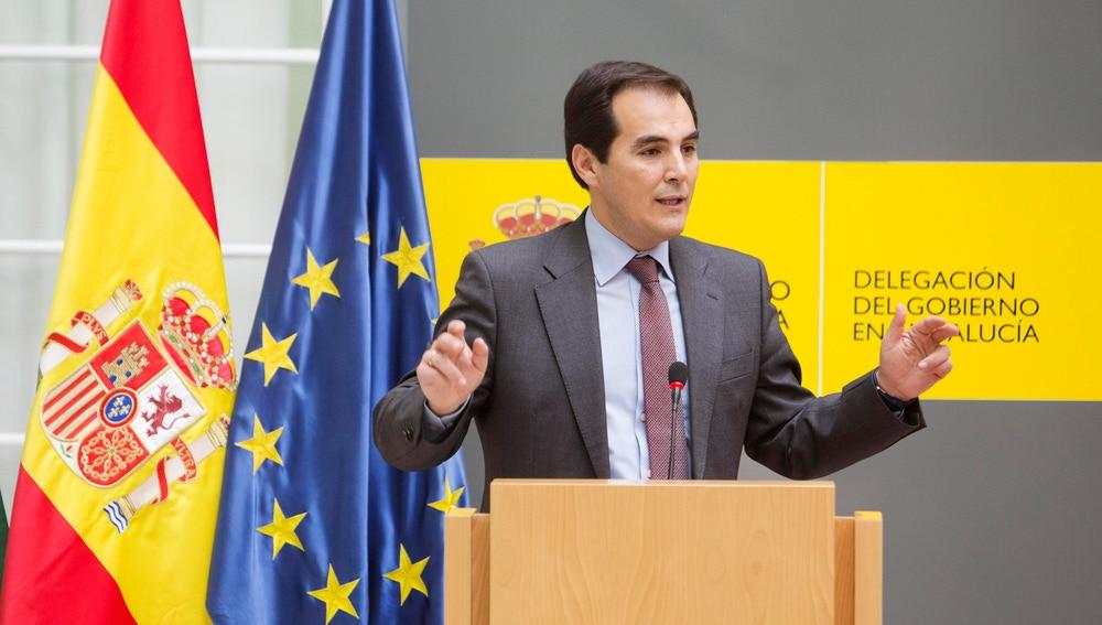 José Antonio Nieto, en un acto oficial