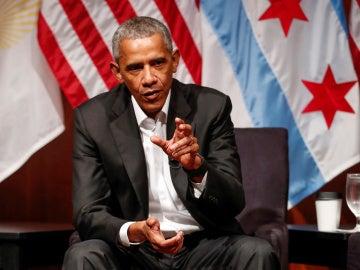 El expresidente de EEUU, Barack Obama