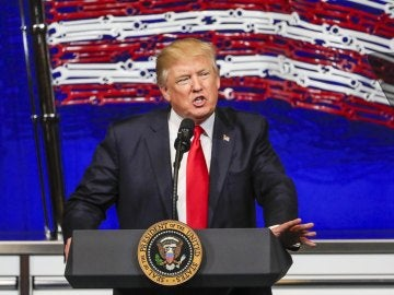 Donald Trump en una imagen de archivo