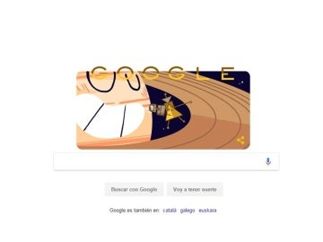 Homenaje de Google a Cassini