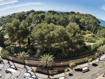 Jardines del palacio de Marivent