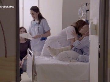 Enfermeras en el Hospital La Paz