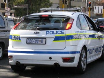 Policía de Sudáfrica