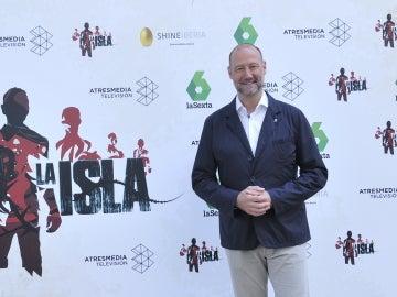 Pedro García Aguado, presentador de La Isla