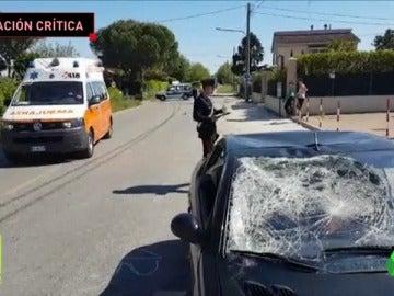 Frame 29.261994 de: Nicky Hayden muy grave tras ser atropellado