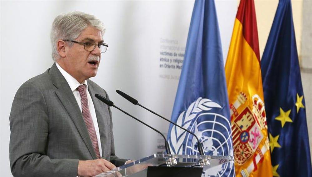 El ministro de Exteriores, Alfonso Dastis, en una imagen de archivo