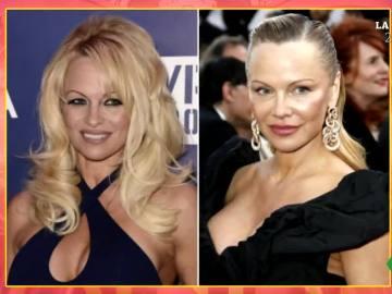 El cambio de rostro de Pamela Anderson