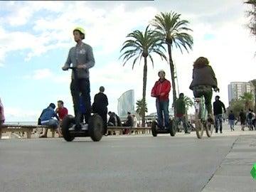 Segways en Barcelona