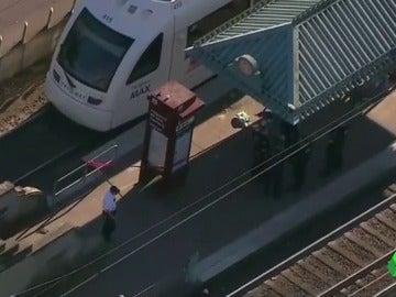 Estación de Portland donde ocurrió el ataque