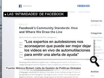 Captura de parte del manual interno de Facebook filtrado