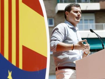"""Albert Rivera ha exigido al presidente catalán, Carles Puigdemont, que """"ponga las urnas"""", pero """"las de verdad""""."""