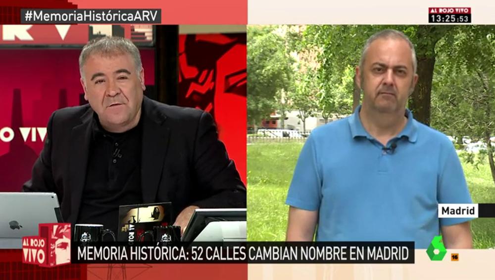 """Frame 140.712049 de: Emilio Silva: """"Por respeto a las víctimas de la dictadura, lo mínimo es no dedicar espacios a quienes han hecho daño a este país"""""""