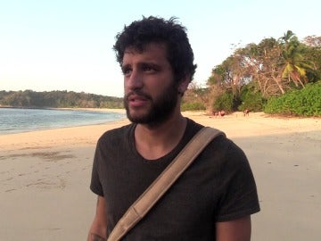 Santi en La Isla